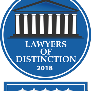 Kathryn M Kirsch Joins 2018 Lawyers of Distinction
